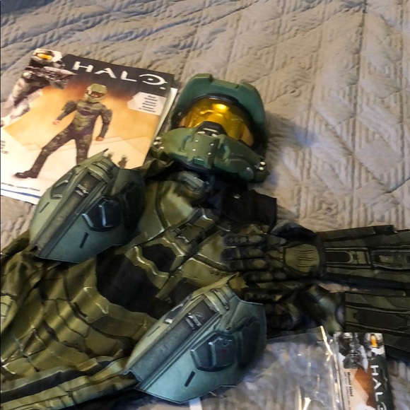 Halo Master Chief kids costume & disguise Costumes | Halo Master Chief Kids Costume | Poshmark